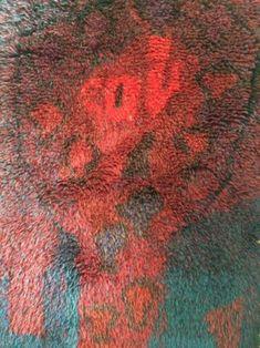 Rya Rug, Rug Hooking, Fiber Art, Weaving, Carpet, Felt, Textiles, Blanket, Rugs