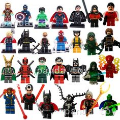Marvel Super Hero Figures 27pcs/lot The Avengers Fantastic Four Building Blocks Sets Classic Toys Bricks Compatible With Lego-in Blocks from Toys & Hobbies on Aliexpress.com