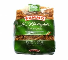 Rummo Whole Wheat Fusilli 500G with shipping facilities available in India.