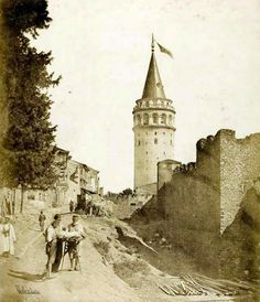 1854 | Galata Tower  by James Robertson