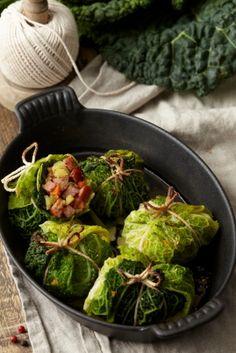 Magazine Gastronomie et Vins | Recette : Paupiettes de chou à la saucisse de Morteau
