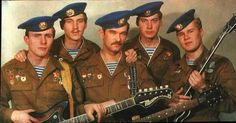 Голубые береты — концертный ансамбль ВДВ в составе 47-го Ансамбля песни и пляски ВДВ, рожденный августе 1985 года в каптёрке 2-й роты 1-го батальона 350-го полка. Ансамбль стал популярен и давал множество концертов в Республике Афганистан и других местах бывшего СССР.