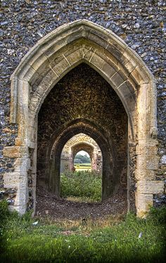 Gothic arches in roudham, norfolk, england gothic architecture, beautiful architecture, beautiful buildings Gothic Architecture, Beautiful Architecture, Beautiful Buildings, Architecture Details, Portal, Places Around The World, Around The Worlds, Old Buildings, Windows