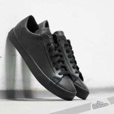Adidas Court Vantage W Core negro / CORE negro / ftwwhite footshop