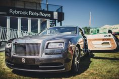Rybrook Rolls-Royce with the Wraith at Ragley Hall CLA Game Fair