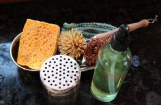 Zero waste blog.  also love this cleaning kit.