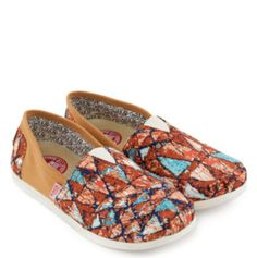 WAKAI Katsudo Ladies Slip On Shoes