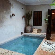 🌟🌟🌟...#lamaisonmarrakech #pool #paradise #heaven #travel #somewhereiwouldliketolive