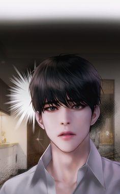Digital Art Anime, Anime Art, Handsome Anime Guys, Digital Art Tutorial, Perfect Couple, Cute Anime Boy, Picts, Boy Art, Anime Style