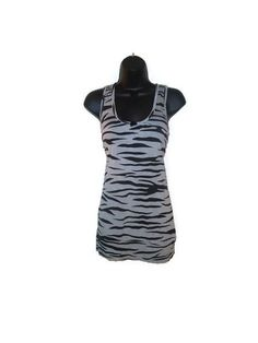 Gray Slate and Black Zebra Striped Print Chic by AccursedDelights, $25.00
