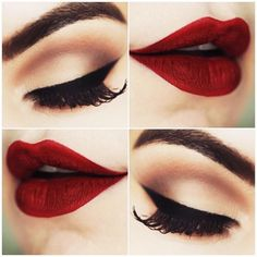 Have you ever wondered how stunning red lipstick looks on your lips? Check out these 8 Stunning Red Lipstick Tips and Makeup Styles Every Girl Should Try!!