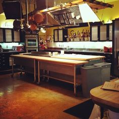 I like the idea of a commercial kitchen in a home.