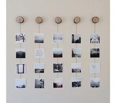 20 idées créatives pour décorer avec les photos! Laissez-vous inspirer…