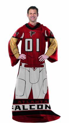 NFL Atlanta Falcons Full Body Player Comfy Throw Game 4f9309ddf548