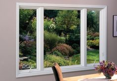 Picture Window - Replacement Picture Windows - Renewal by Andersen Casement and Picture Combination