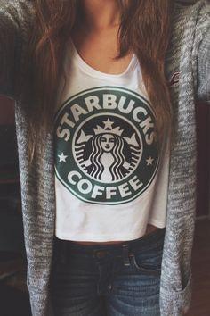Starbucks shirt!