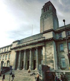 The majestic #architecture of the Parkinson #Building at the #University of #Leeds - reminds me of Barnsley Town Hall! #uniofleeds #IgersLeeds #loveleeds #steps #clock #tower #LeedsBid #Leeds2023 #travel #tourism #tourist #leisure #life #Yorkshire