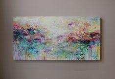Pintura abstracta pintura paisaje pintura acrílica por artbyoak1