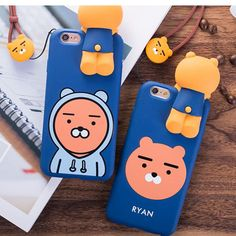 Kakao Friends iphone 6,7 Plus Silicone Soft Case  Ryan Apeach Muzi #kakao