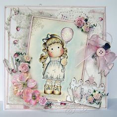 Magnolia Cards by Kim Piggott: Sending happiness......