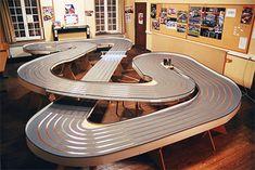 Slot Car Race Track, Slot Car Racing, Slot Car Tracks, Slot Cars, Race Cars, Race Tracks, Auto Racing, Scalextric Track, Race Around The World