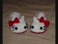 Tutorial- Crochet Hello Kitty Face - YouTube