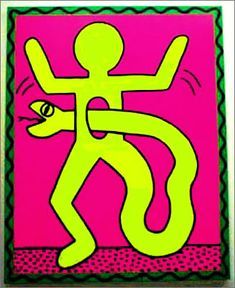 Keith Haring-words cannot express how much I love your work-it changed the way I look at things forever.