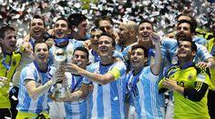 Argentina đánh bại Nga vô địch futsal World Cup 2016