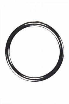 Steel Cockring ohne Naht Größe Durchmesser 55 mm