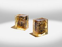 Luminous Modern Furniture Sculpted with Ancient Wood in Resin - My Modern Met