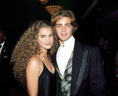 Keri Russell and Joey Lawrence