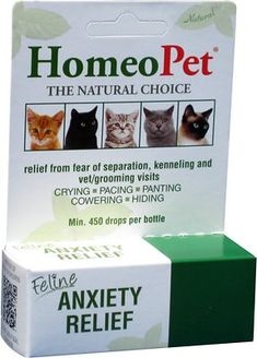 HomeoPet - Homeopathic Remedies Feline Anxiety relief 15 ml Cough Medicine, Homeopathic Medicine, Homeopathic Remedies, Allergy Medicine, Natural Remedies, Anxiety Relief, Stress And Anxiety, Stress Relief, Health Anxiety