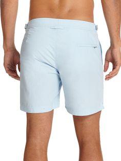 ORLEBAR BROWN Solid Bulldog Swim Shorts. #orlebarbrown #cloth #