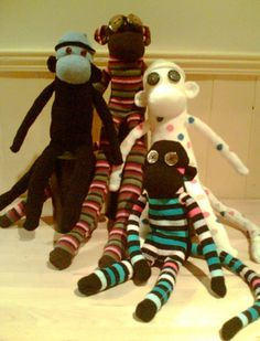 Make your own sock monkey (with pattern)
