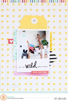 Let the WILD rumpus begin // FULL layout by kelseyespecially at Studio_Calico