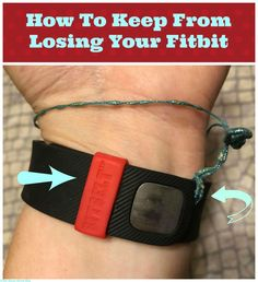 How to Keep Your Fitbit From Falling Off @fitbit @Fitbitfix #BitBelt