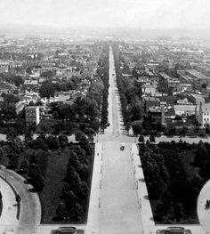 Looking Down East Capitol Street From The Dome Of Capitol Building - Washington Dc - C 1890