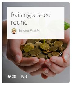Basics of raising angel/venture capital to build your product. #startups #funding #money