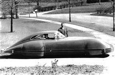 Fageol Supersonic Car, 1940. It  was originally designed and built by Joel Thorne and Art Sparks at Thorne Engineering Racing Shop in Burbank, .