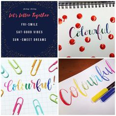 Typography, Lettering, Bullet Journal, Ink, Instagram Posts, Letterpress, Letterpress Printing, Drawing Letters, India Ink