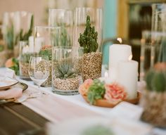 We shared 11 ways to decorate with succulents in your tablescapes.