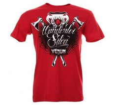 "Venum Wanderlei ""The Axe Murderer"" Silva Shirt - Red $17.95 Free Shipping http://tshirtsupreme.com/collections/venum-shirts/products/venum-wanderlei-the-axe-murderer-silva-shirt-red"