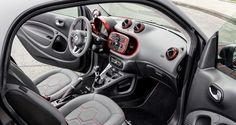 smart fortwo BRABUS tailor made coupé (C453) interior 2014