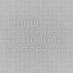 www.lmi-wielkopolska.pl Nowicki przepływ