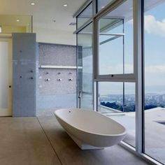 The perfect city bathroom.