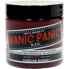 Manic Panic Fuchsia Shock Hair Dye -- You can get more details by clicking on the image. (Amazon affiliate link)