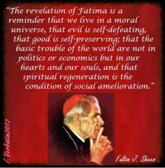 archbishop fulton sheen quotes | Meme Monday 10-28-2013Catholic Family Man | Michael Gannotti on, Faith ...