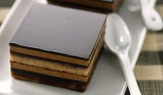 Opera Cake, Czech Recipes, Baking Recipes, Yummy Recipes, Nutella, Tiramisu, Sweet Tooth, Bakery, Food And Drink