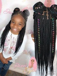 braid and cornrow hairstyles for Black children kids braided hairstyles 10 Holiday Hairstyles For Natural Hair Kids Your Kids Will Love Little Girl Braids, Black Girl Braids, Braids For Black Hair, Kid Braids, Box Braids For Kids, Little Girl Braid Styles, Little Black Girls Braids, Tree Braids, Box Braids Hairstyles