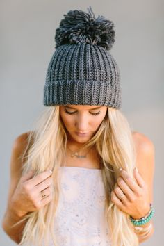 Only for You Pom Beanie by Three Bird Nest | Women's Bohemian Clothing